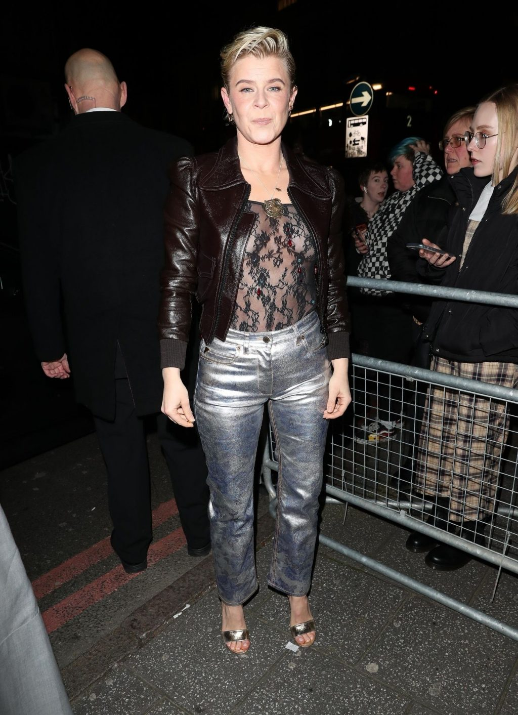 Robyn Makes Busty Appearance with a Friend Arrive at the NME Awards (14 Photos)