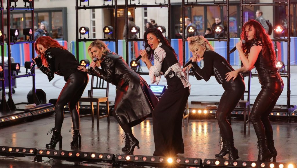 The Pussycat Dolls Pictured Rehearsing at BBC Studios for The One Show (45 Photos)