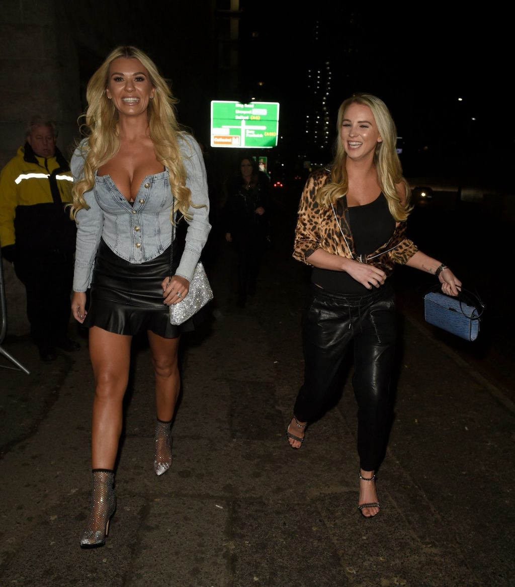 Christine McGuinness Puts On Busty Display at The Blast Off Tour in Manchester (50 Photos)