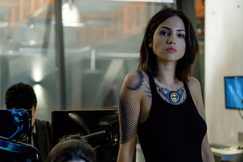 Eiza Gonzalez Looks Sexy on the Bloodshot Set (7 Photos)