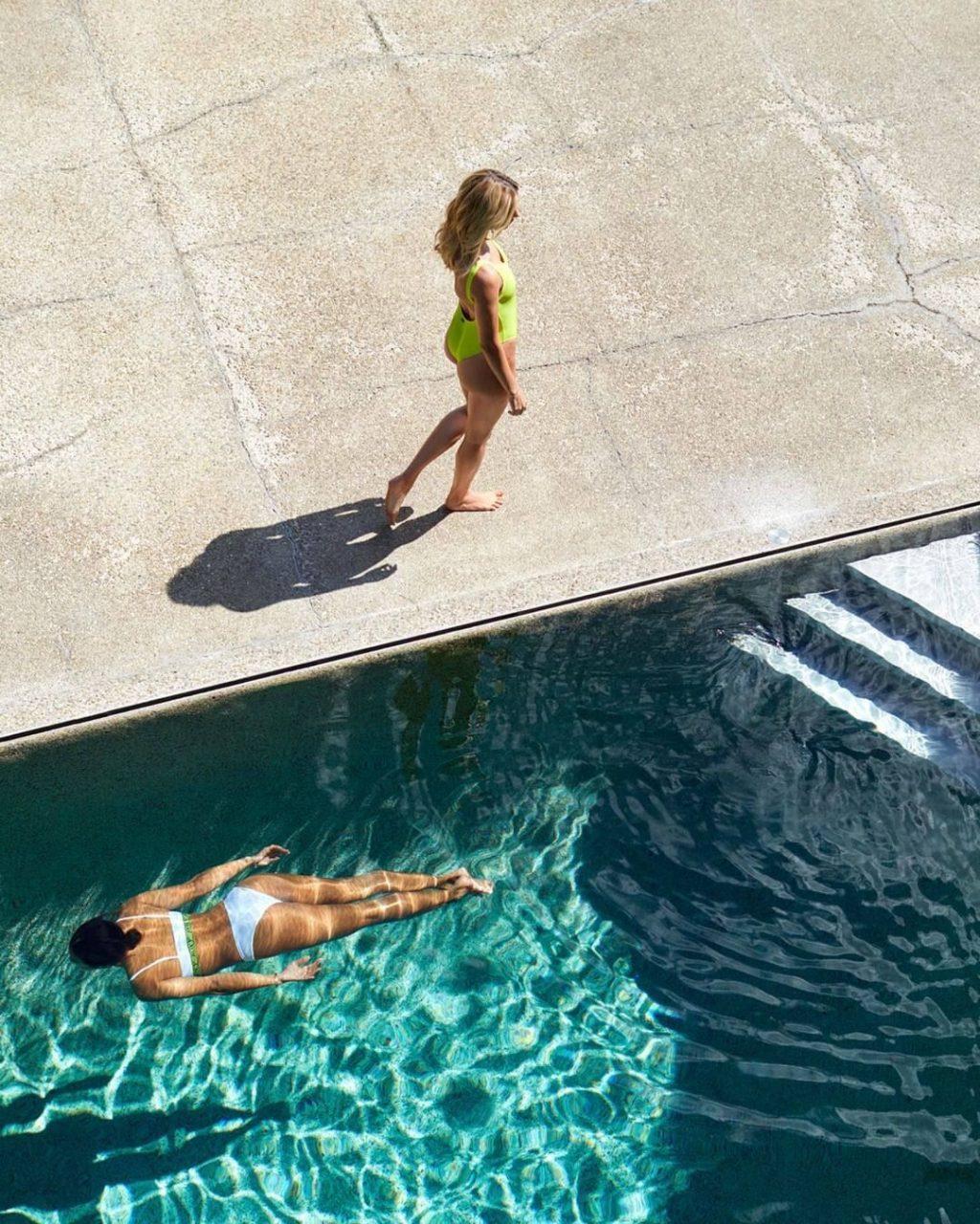 Hailey Bieber & Kelia Termini Pose for Roxy x Sister Summer 2020 Campaign (26 Photos + Videos)