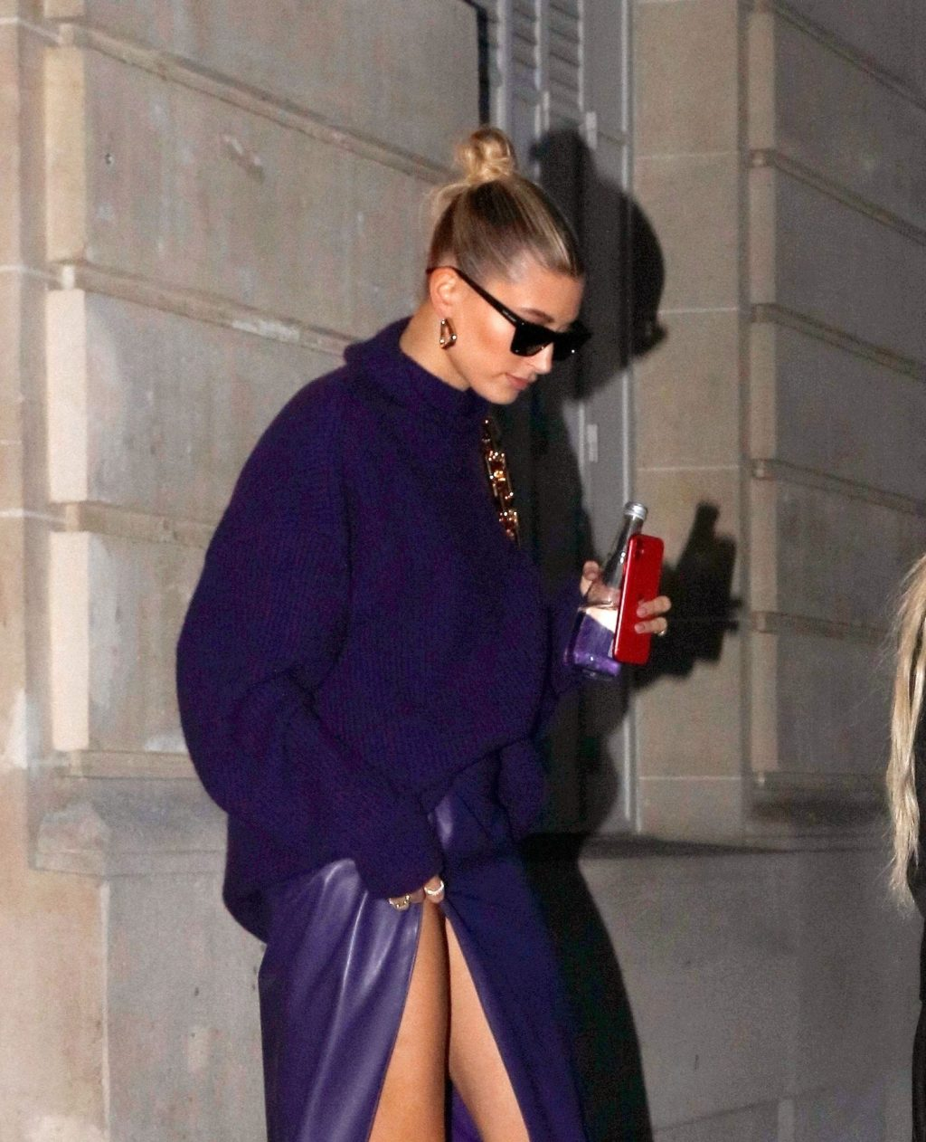 Hailey Bieber Seen Out and About in Paris (6 Photos)
