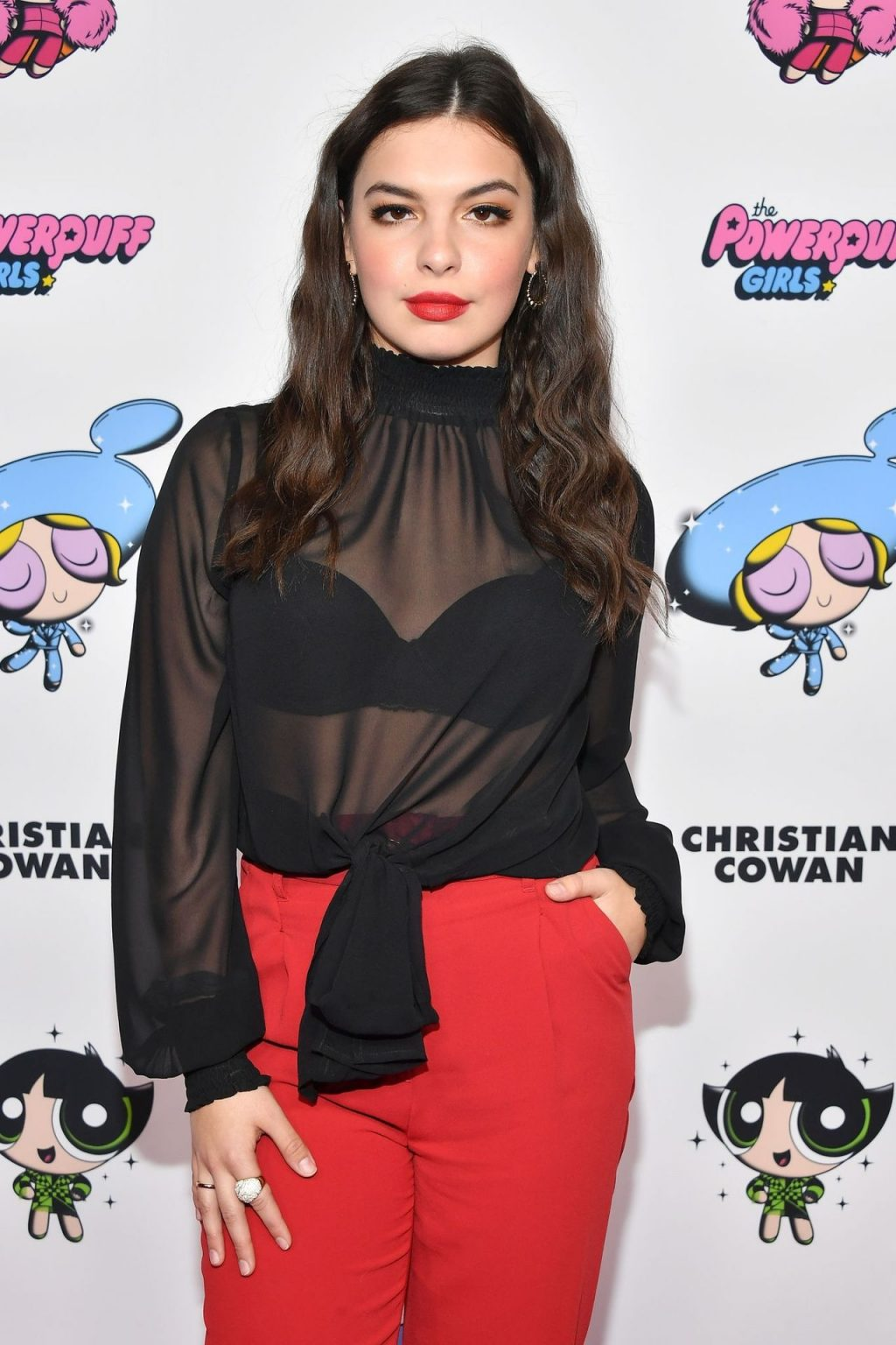 Isabella Gomez Looks Hot at the 2020 Christian Cowan x Powerpuff Girls Runway Show (19 Photos)