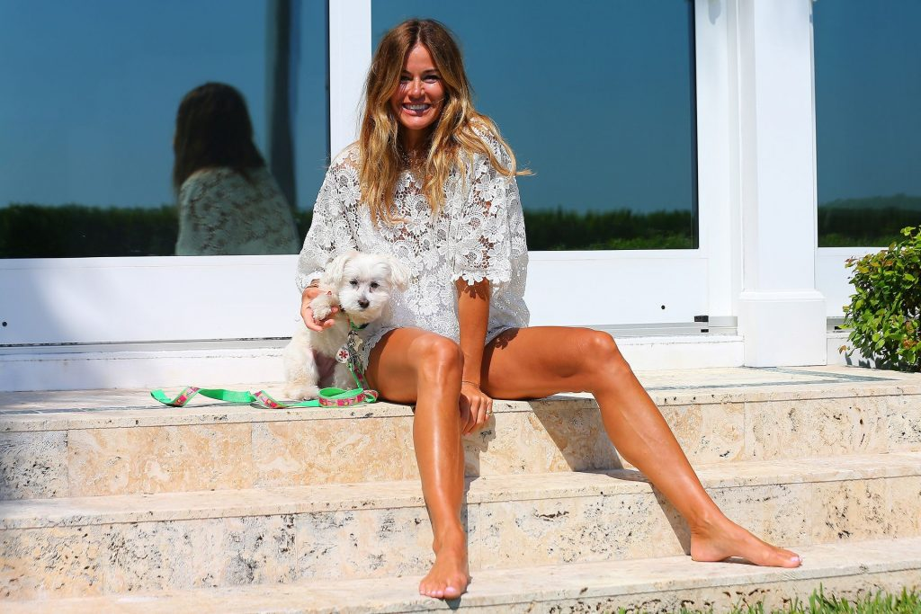 Kelly Bensimon Uses the Safer at Home Directive to Protect Herself and Family in West Palm Beach (24 Photos)
