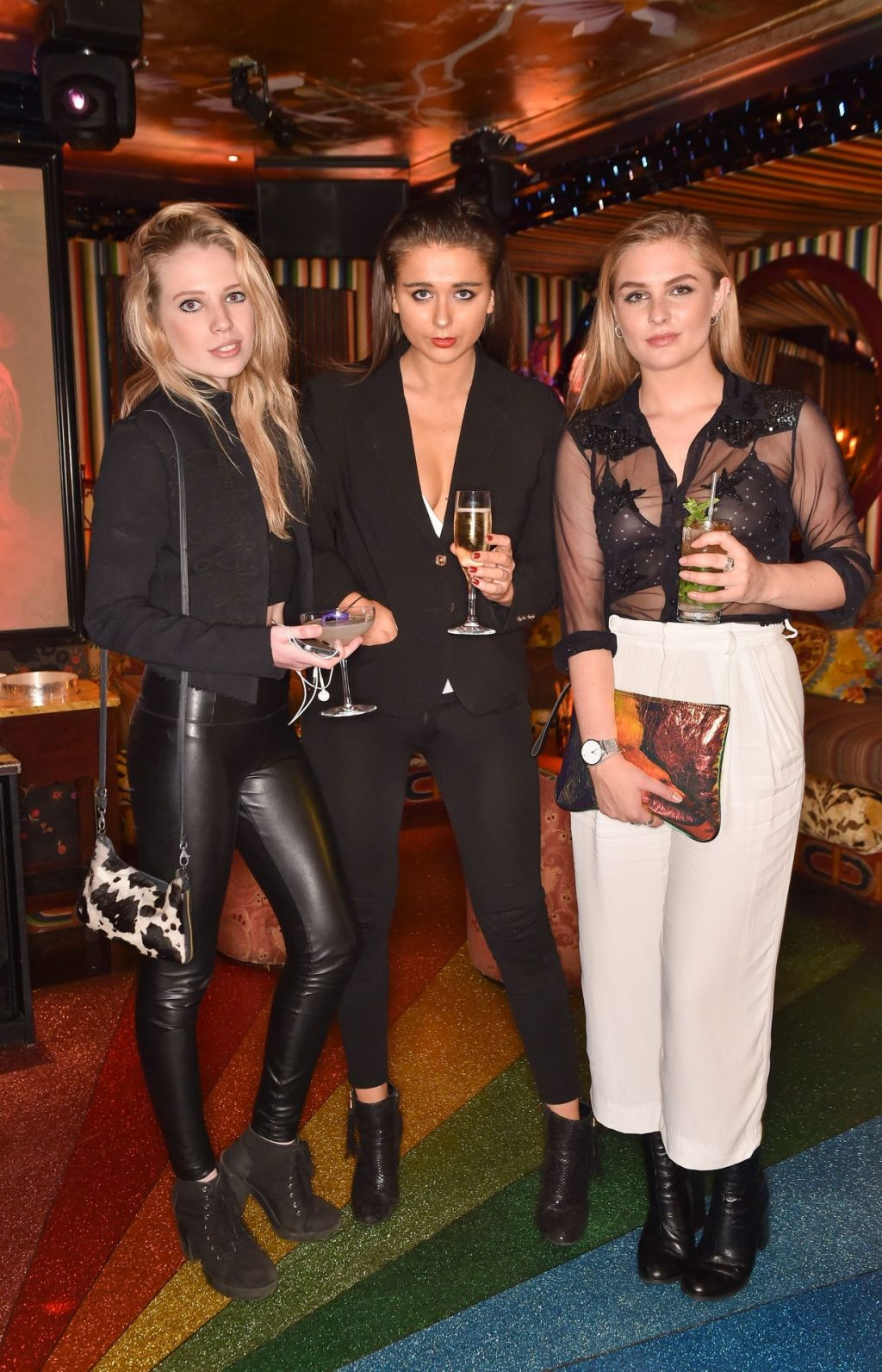 Maisie Mould Looks Pretty in a See-Through Bra at the VieLoco Launch Party (3 Photos)