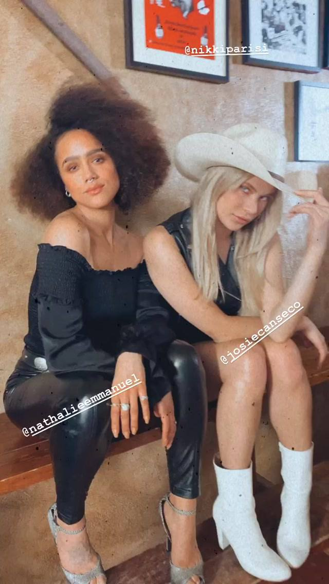 Nathalie Emmanuel & Josie Canseco Pose for a New Photoshoot (8 Photos)