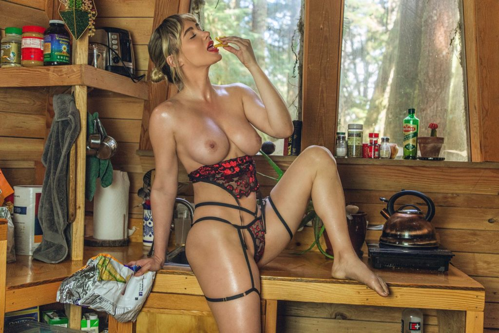 Sara Underwood Gives Protection From the Virus (12 Photos)