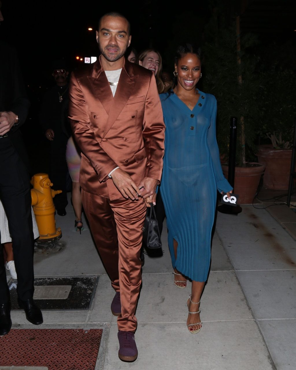 Taylour Paige Suffers Wardrobe Malfunction at GQ party in West Hollywood (7 Photos)