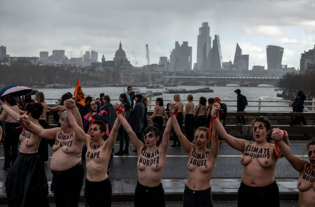 International Women's Day March in London (27 Photos)