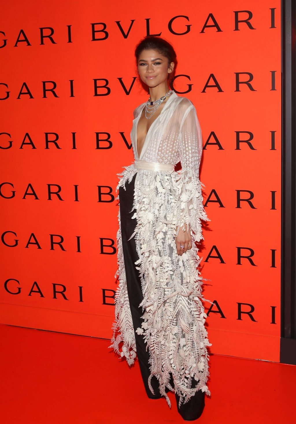 Zendaya Shows Her Small Tits at the Bvlgari Party (52 Photos)