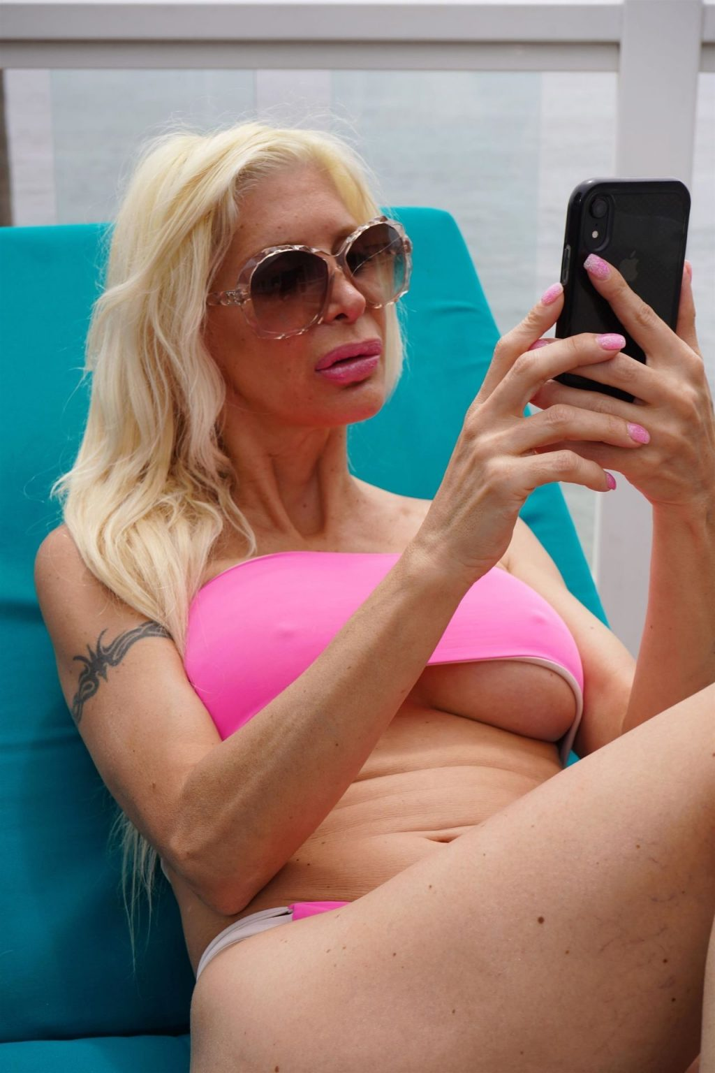 Angelique Morgan Gets Some Sun in a Pink Bikini (46 Photos)