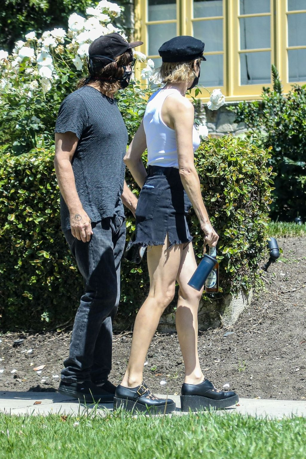 Diane Kruger & Norman Reedus Attend a House Party During the COVID-19 Outbreak (27 Photos)