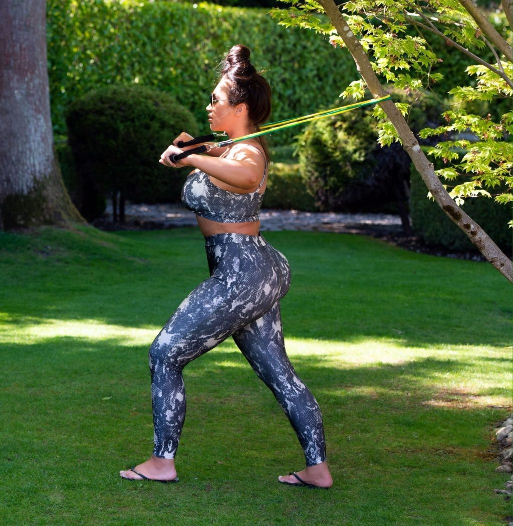 Lauren Goodger Is Seen Having an Early Morning Workout in Essex (16 Photos)