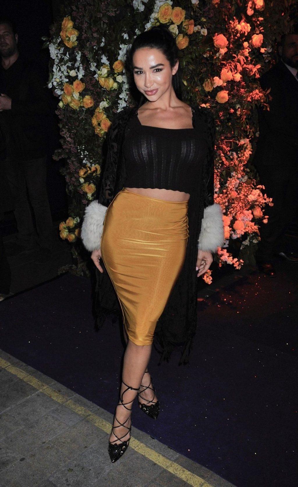 Natasha Grano Stuns at Tramp 50th Anniversary Party in London (16 Photos)