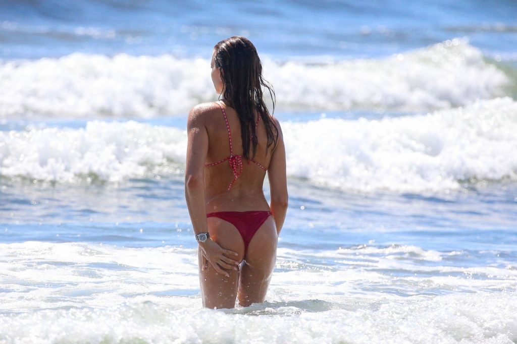 Alessia Tedeschi Shows Off Her Tones Bikini Body on the Beach (23 Photos)
