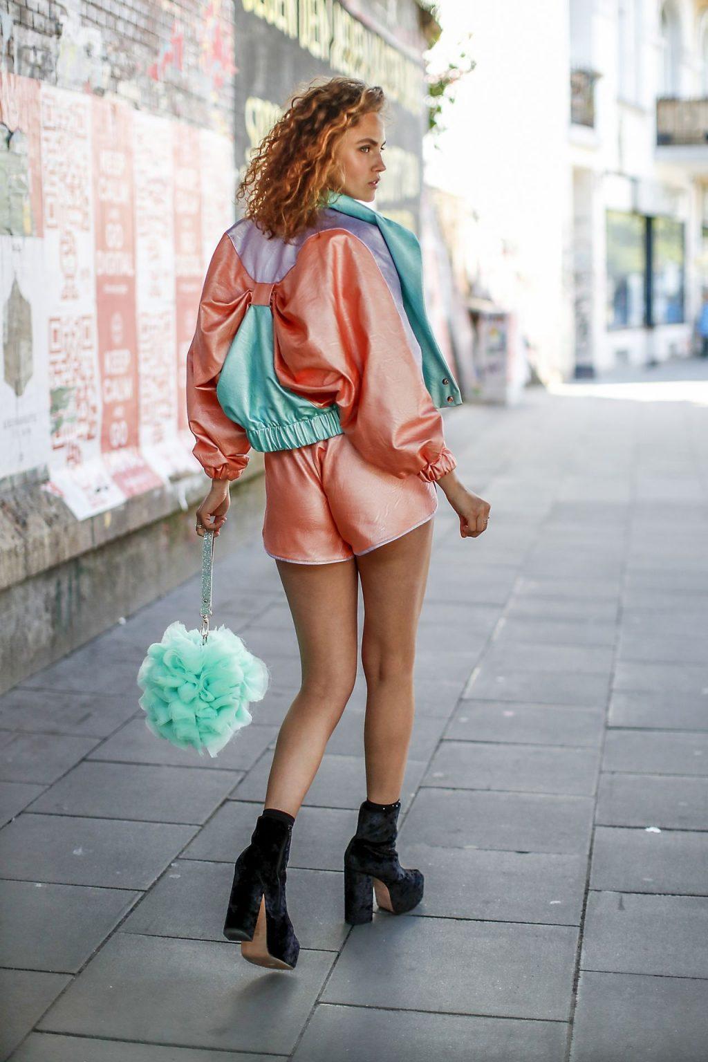 Elena Cariere's Street Style in Hamburg (50 Photos)
