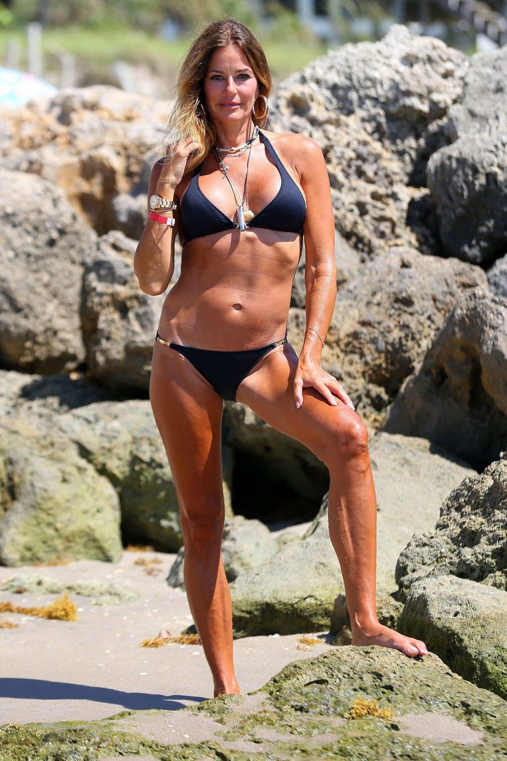 Kelly Bensimon Shows Off Her Toned Summer Body in a Skimpy Bikini (38 Photos)