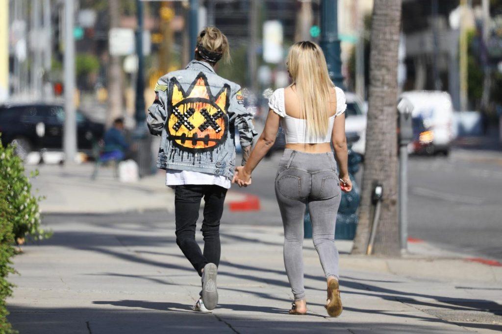 Lovebirds Aaron Carter & Melanie Martin Run Errands Together (93 Photos)