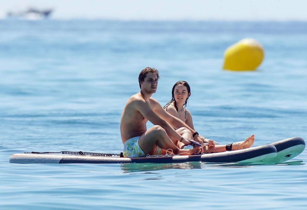 Princess Alexandra of Hanover Enjoys Paddle with Her Boyfriend in Saint-Tropez (25 Photos)