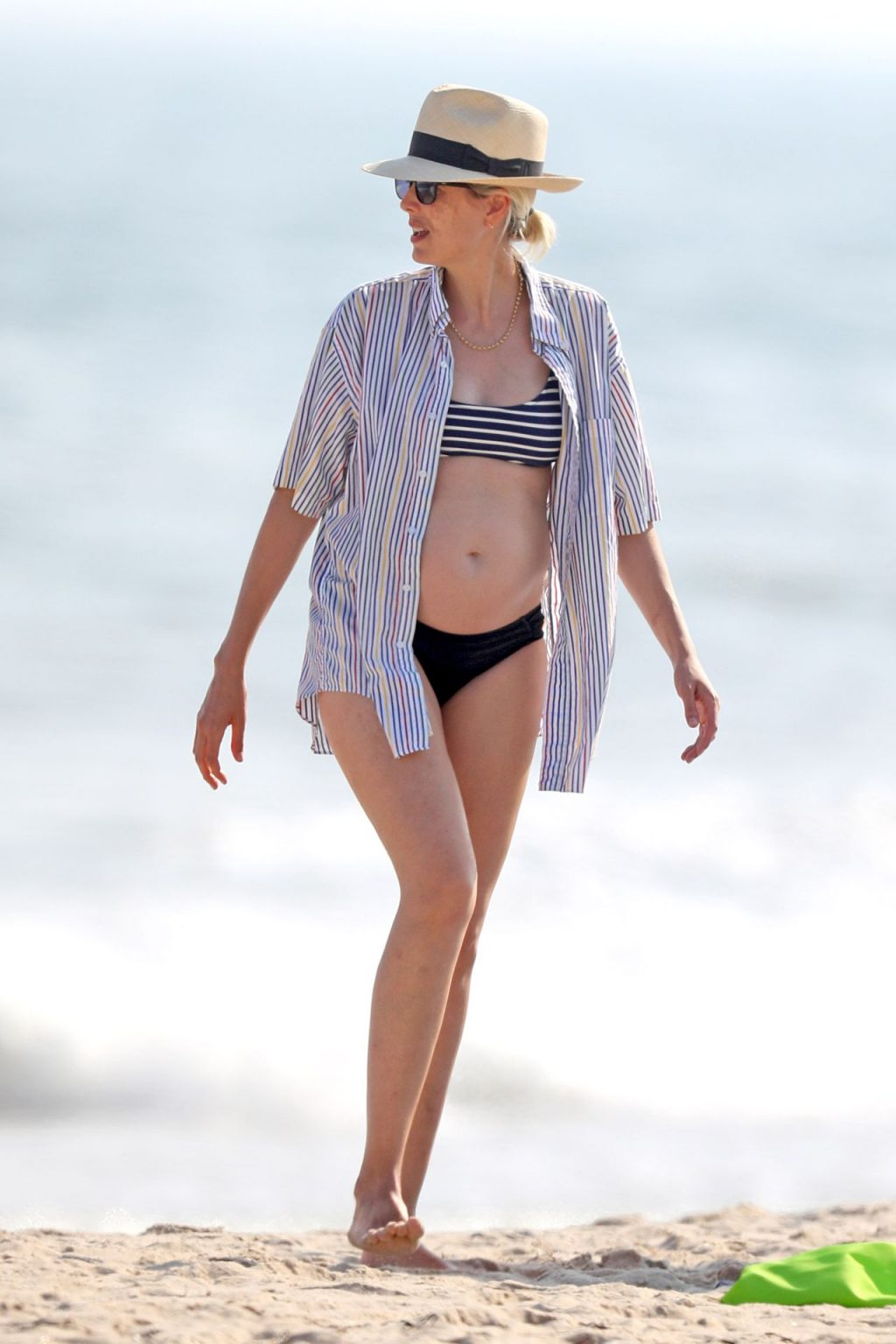 Agyness Deyn is Spotted in a Bikini on the Beach in The Hamptons (25 Photos)