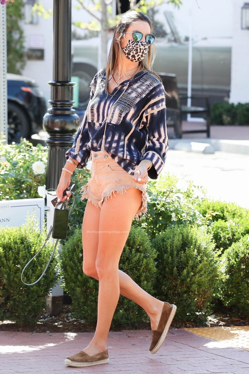 Leggy Alessandra Ambrosio Looks Trendy as She Runs Errands in Pacific Palisades (16 Photos)