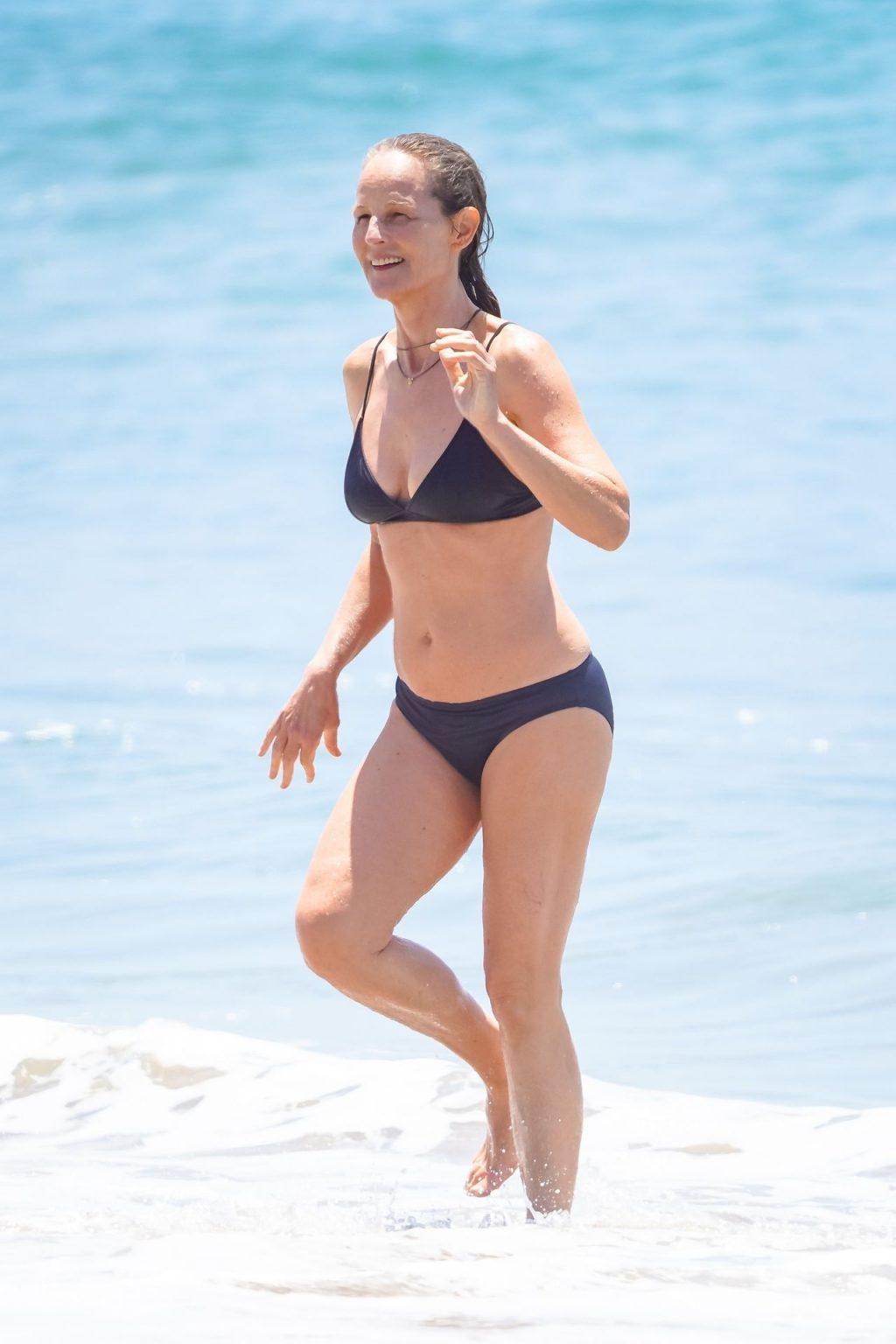 Helen Hunt Shows Off Her Bikini Body in Malibu (43 Photos)