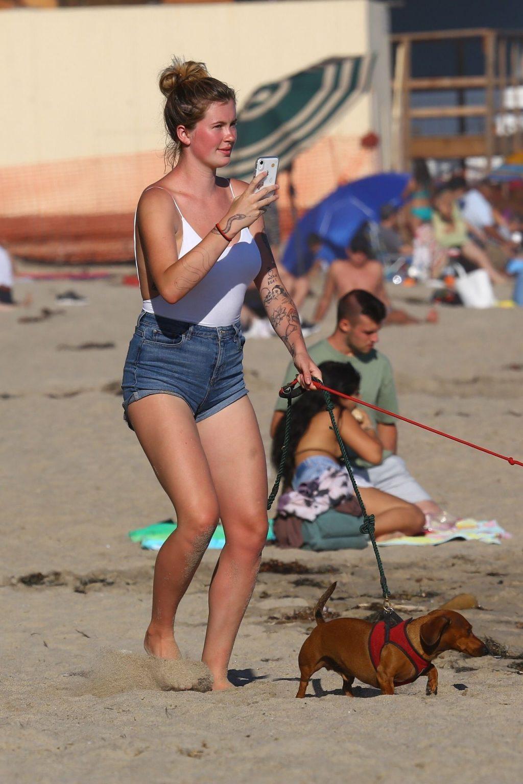 Ireland Baldwin Has a Fun Beach Day in Malibu (82 Photos)