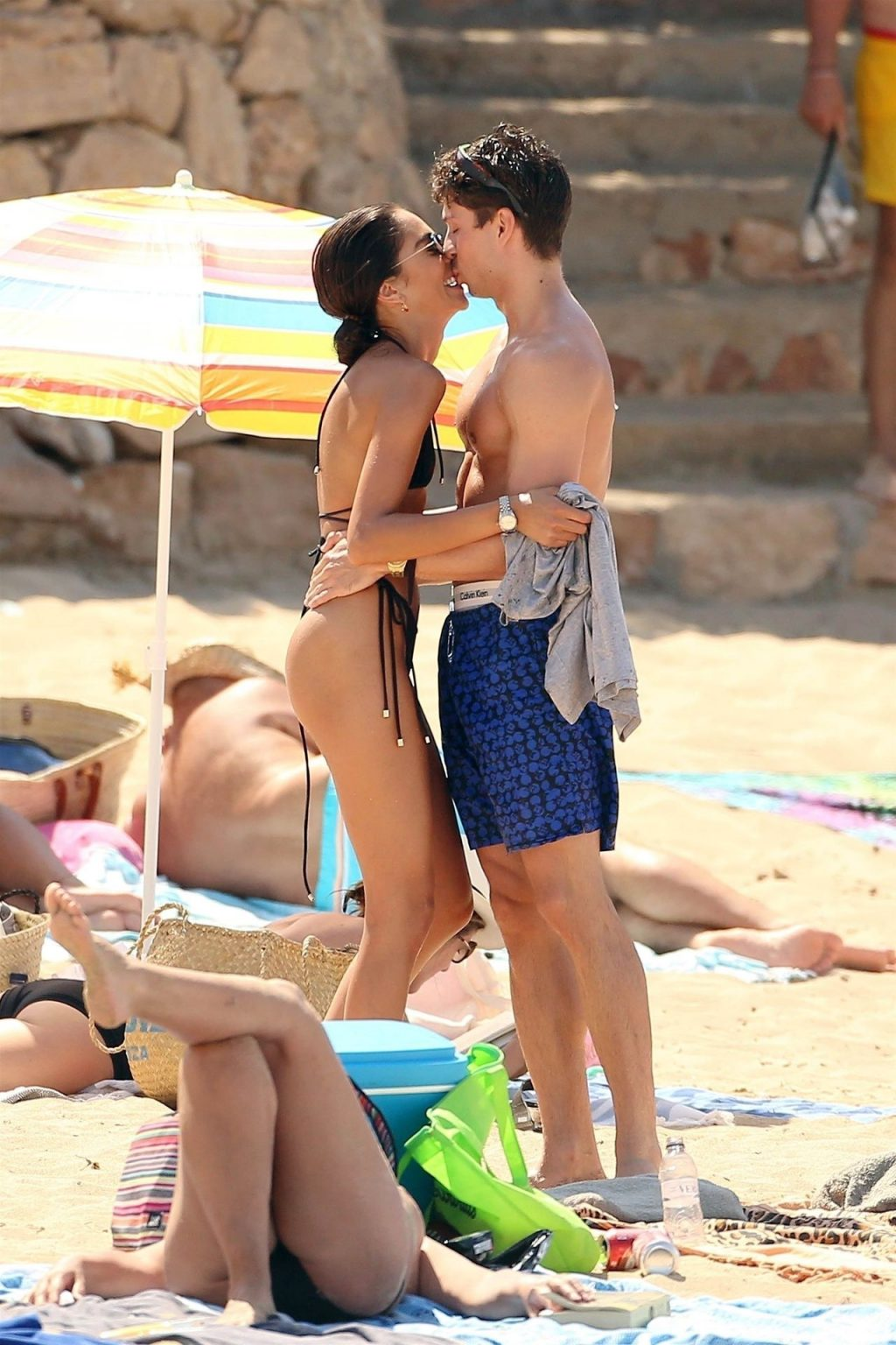 Joey Essex & Brenda Santos Enjoys the Spanish Sunshine in Ibiza (68 Photos)