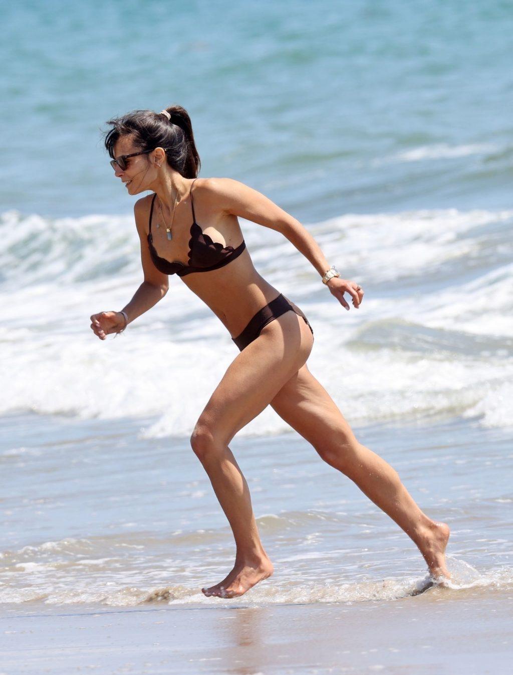 Jordana Brewster & Mason Morfit Enjoy a Romantic Beach Day Packed with PDA (68 Photos)