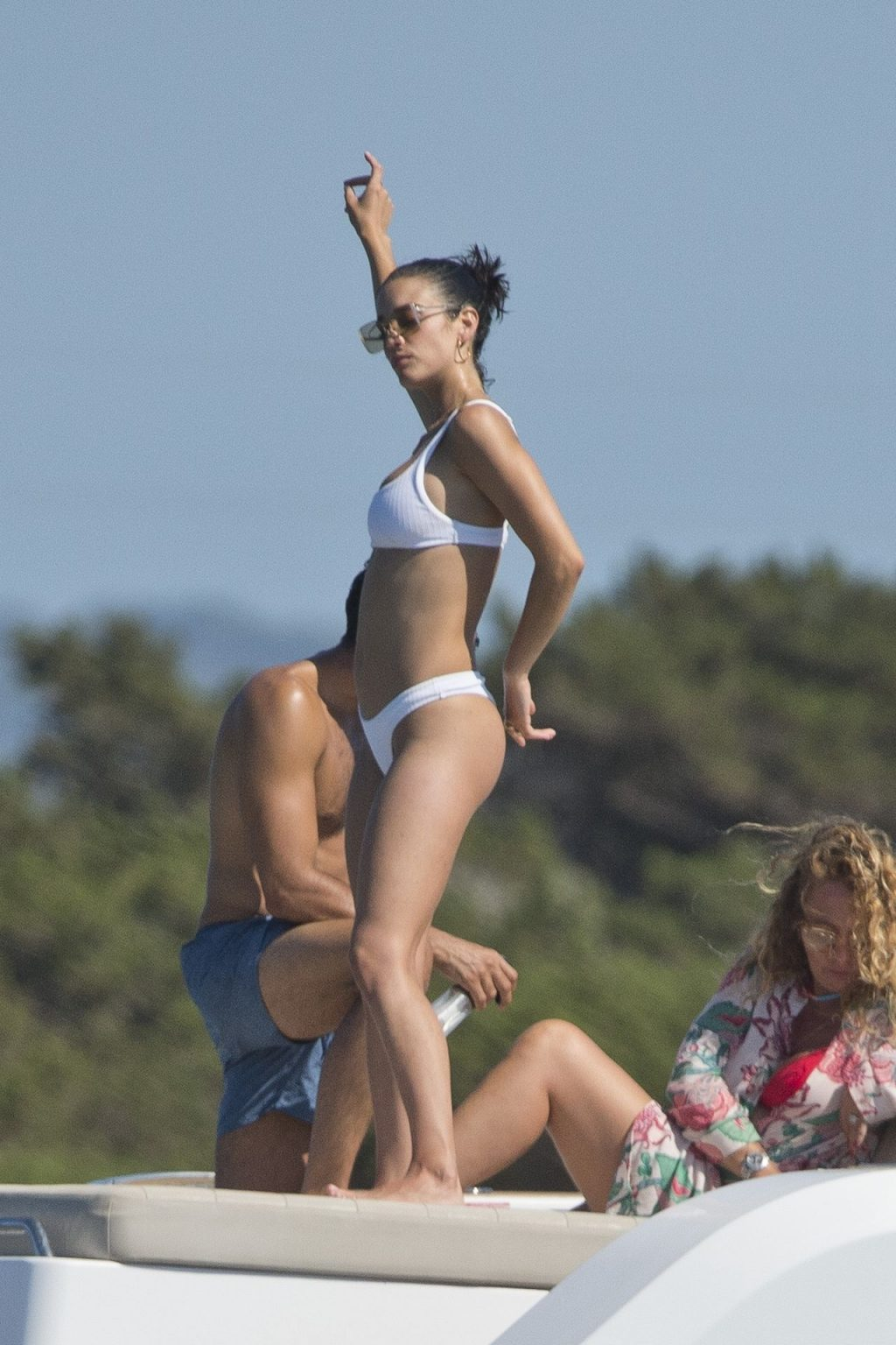 Sexy Maria Pedraza Poses in a White Bikini in Formentera (71 Photos)