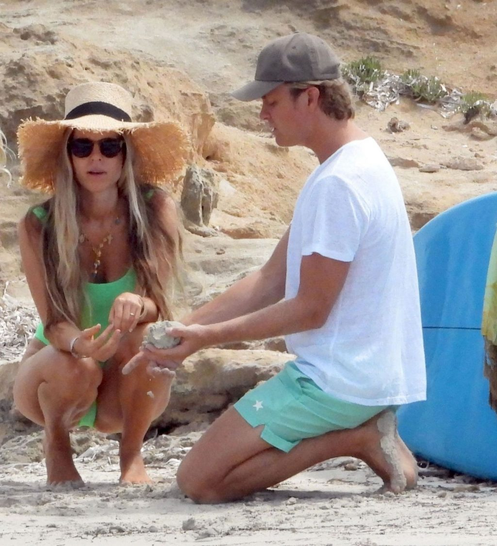 Nico Rosberg & Vivian Sibold Enjoy a Family Day in Formentera (43 Photos)