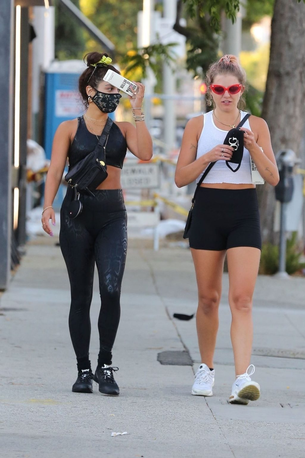 Vanessa Hudgens Shows Off Her Fit Body as She Arrives at the Gym (38 Photos)