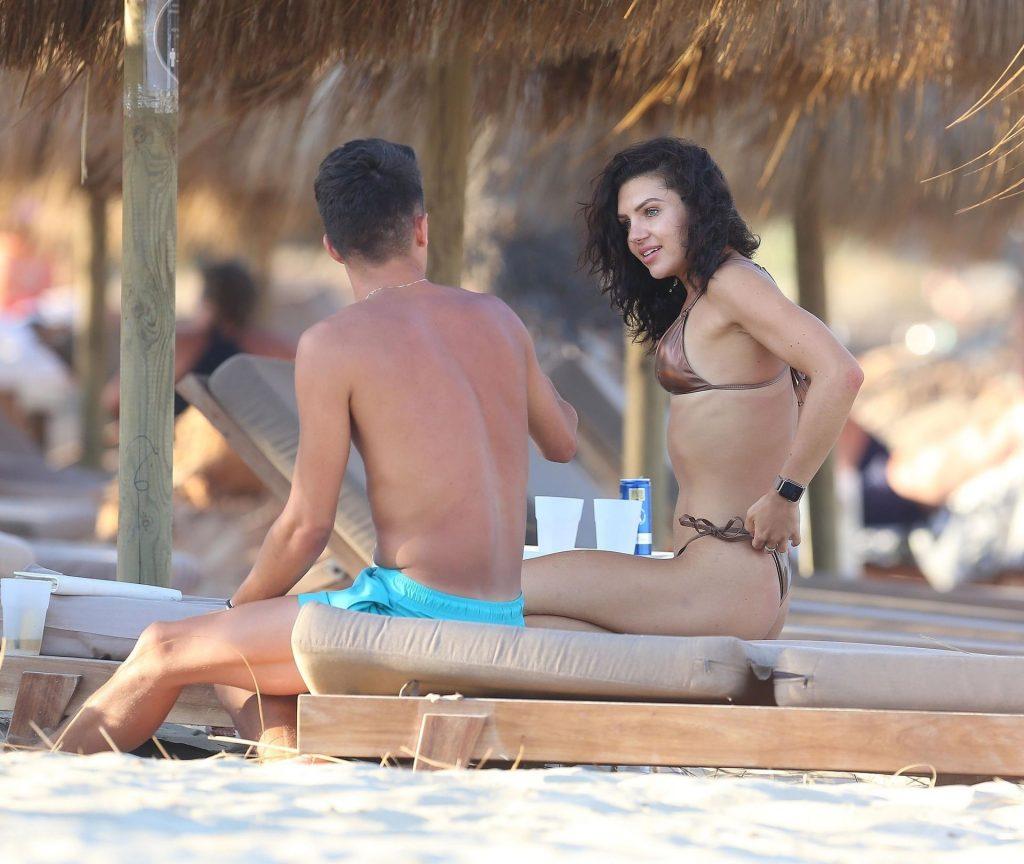 Alexandra Cane Shows Off Her Sexy Physique on the Beach in Ibiza (64 Photos)