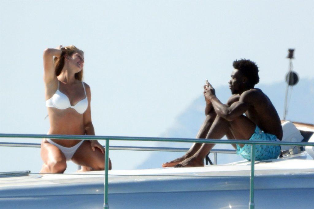 Alphonso Davies & Jordyn Huitema Enjoy a Summer Break in Spain (45 Photos)