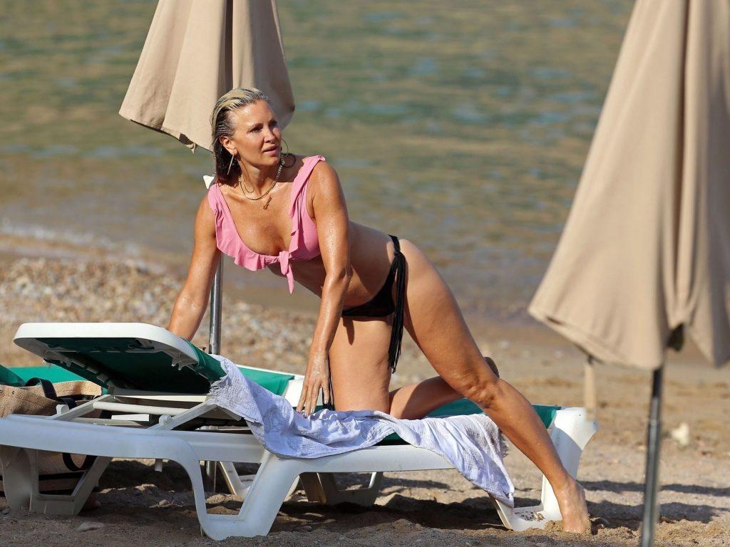 Caprice Bourret Displays Her Sexy Body in Ibiza (9 Photos)
