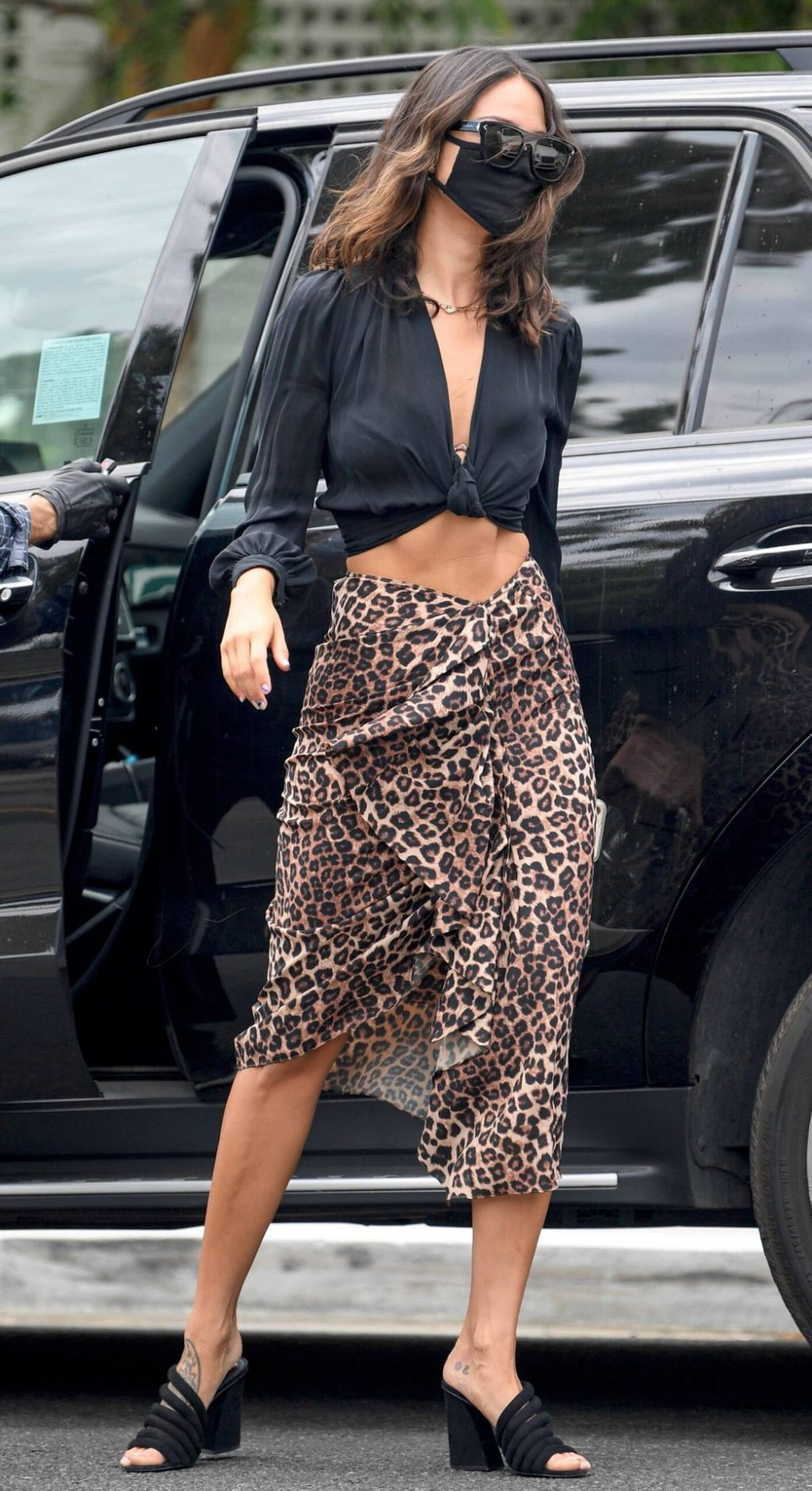 Eiza Gonzalez Wows in Leopard Print As She Steps Out in LA (17 Photos)