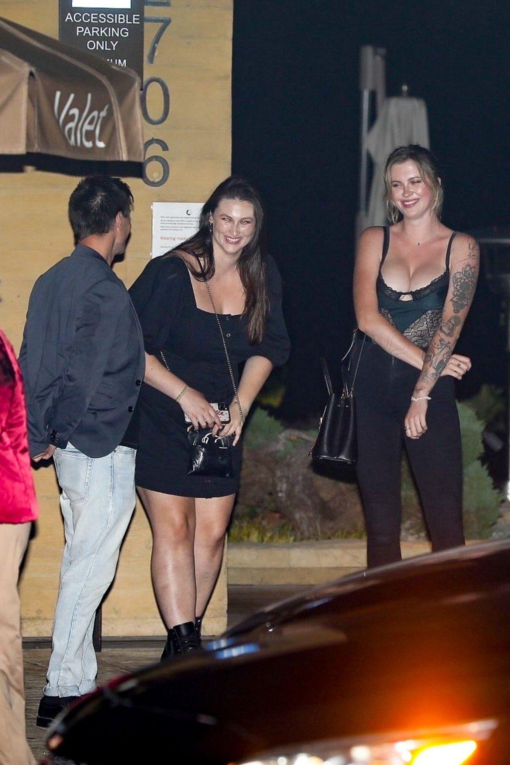 Ireland Baldwin Stuns as She Exits Nobu After Dinner with Friends (46 Photos)