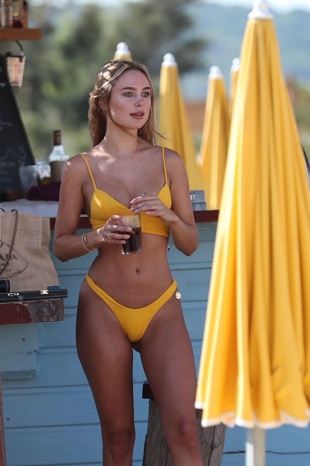 Kimberley Garner Looks Super Hot in a Yellow Bikini (31 Photos)