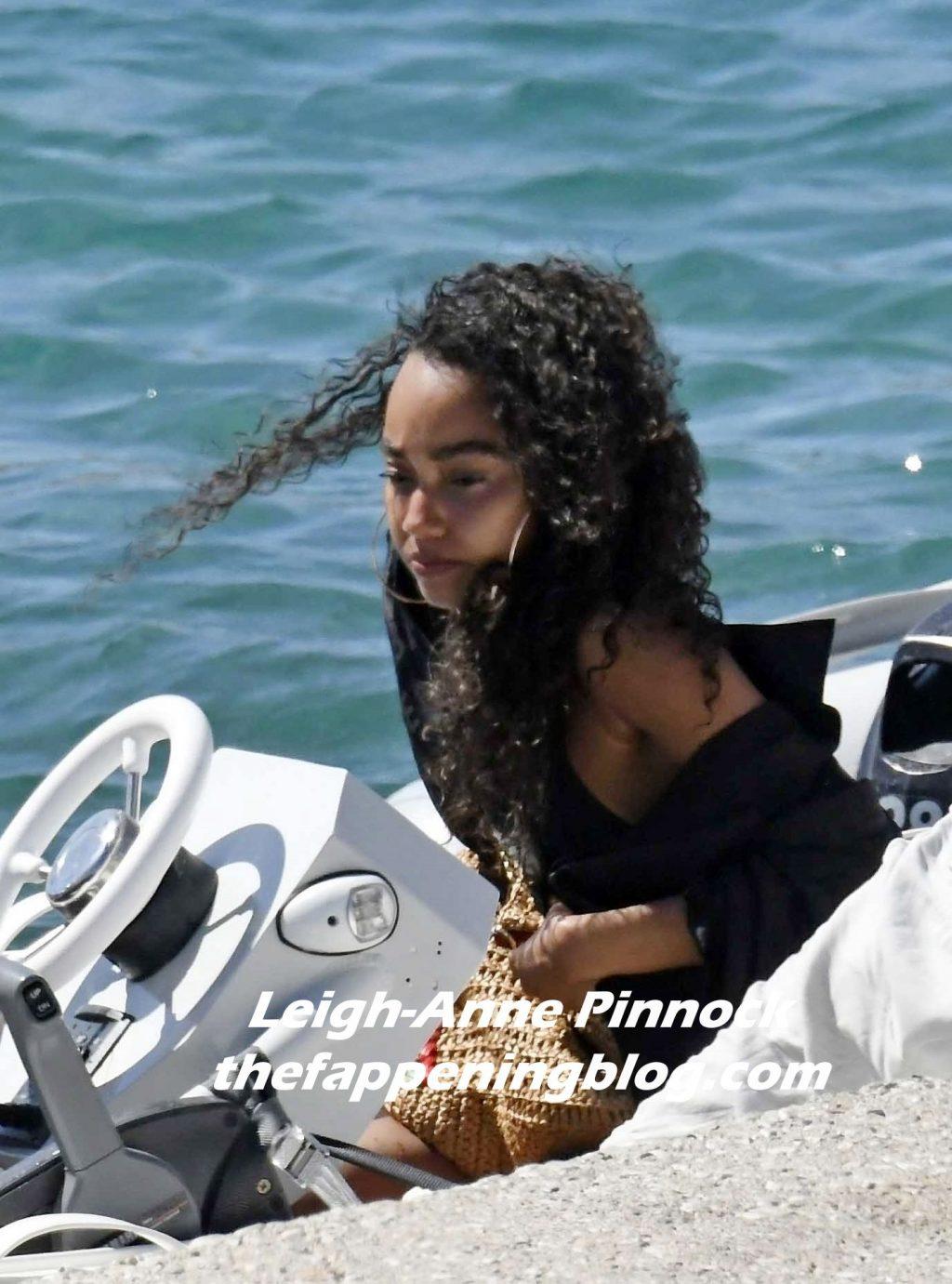 Leigh-Anne Pinnock & Andre Gray Enjoy a Romantic Holiday in Mykonos (32 Photos)