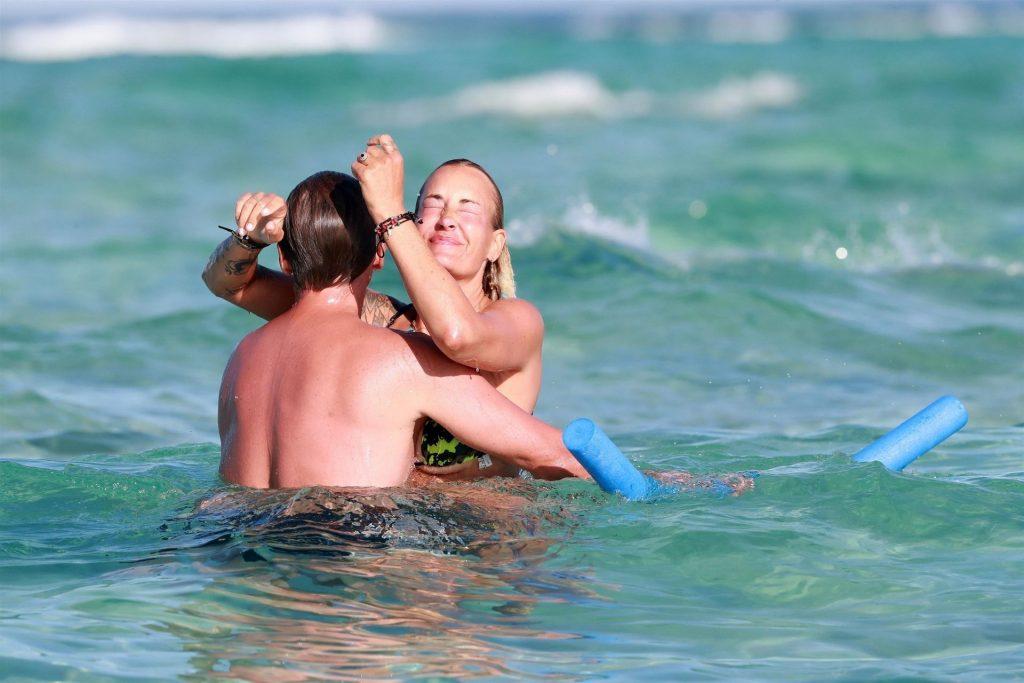 Sarah Connor & Florian Fischer Enjoy Their Vacation in Mallorca (41 Photos)