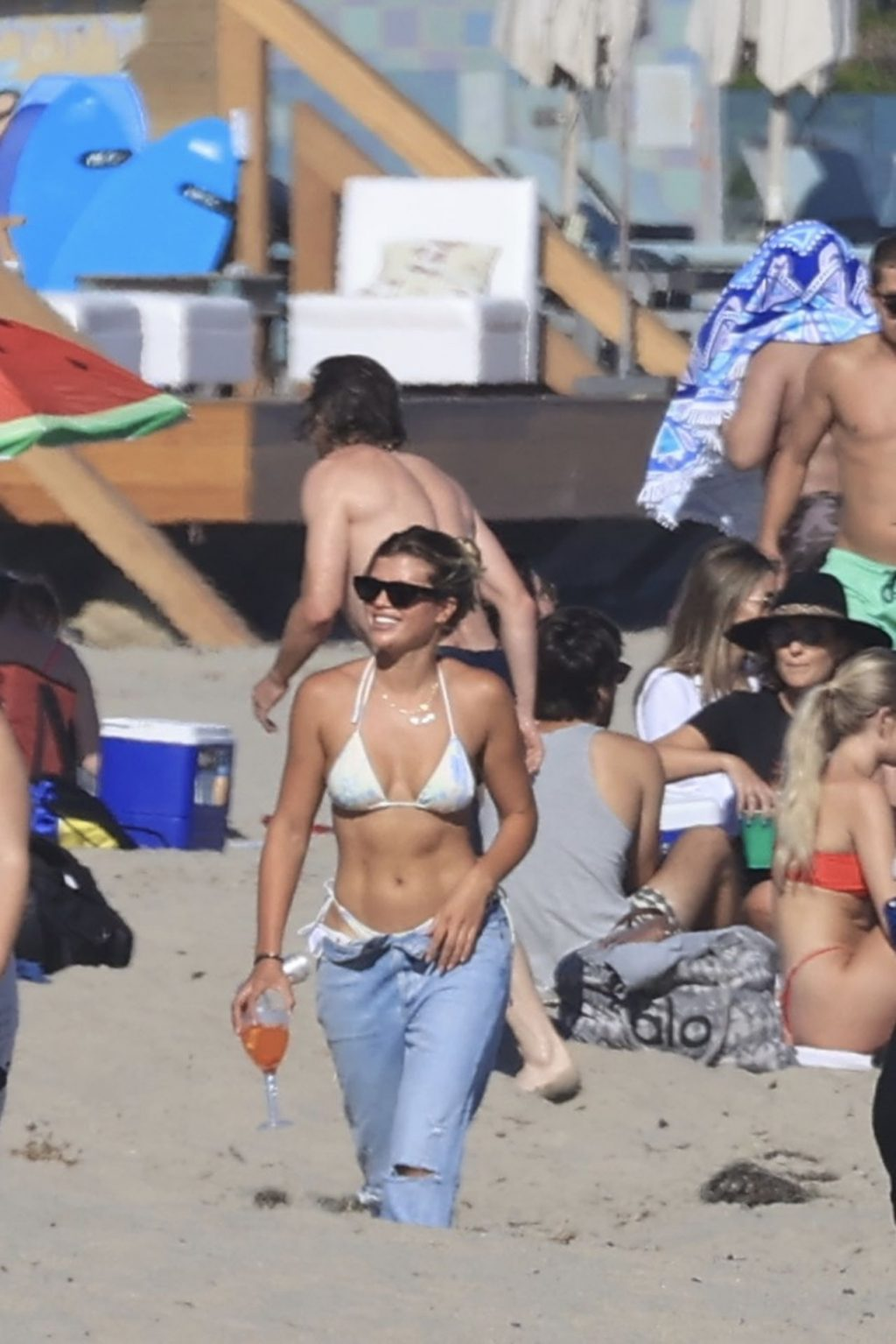 Sofia Richie Shows Off her Abs on the Beach (155 New Photos)