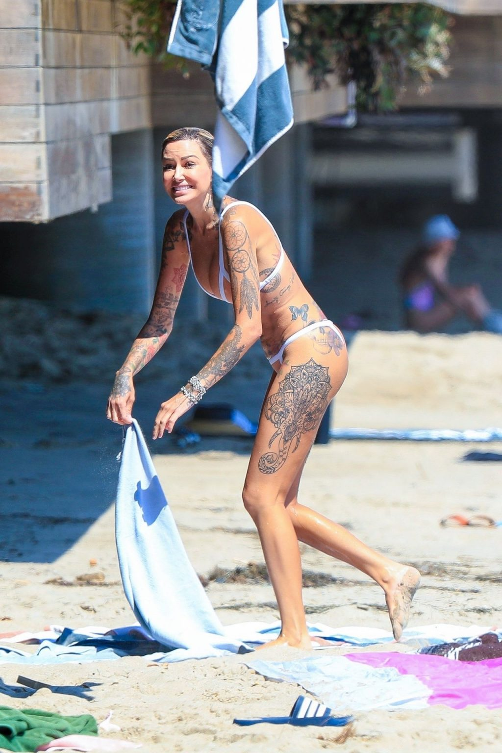 Tina Louise Suffers a Sexy Nip Slip in Malibu (66 Photos)
