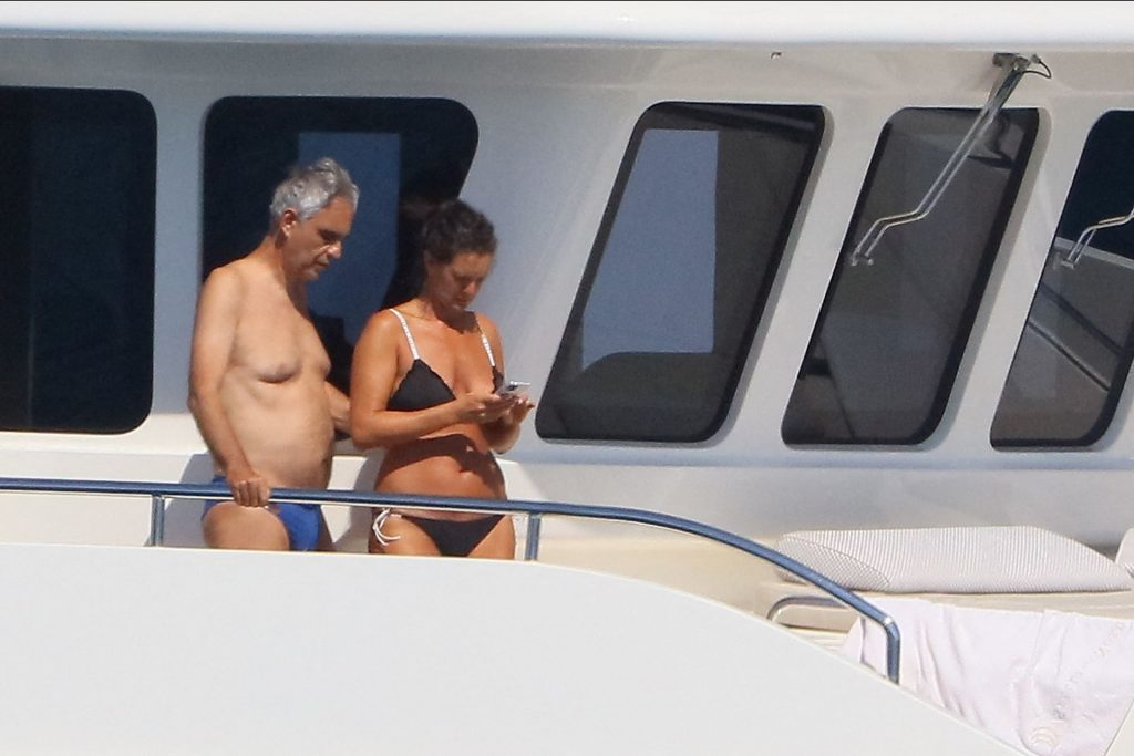 Andrea Bocelli & Veronica Berti Enjoy Their Holiday in St Tropez (19 Photos)