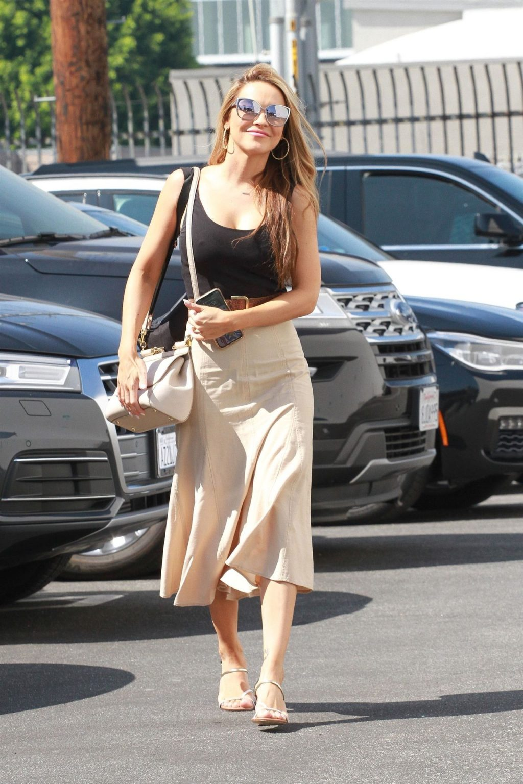 Chrishell Stause is Seen All Smile at DWTS Studios (57 Photos)