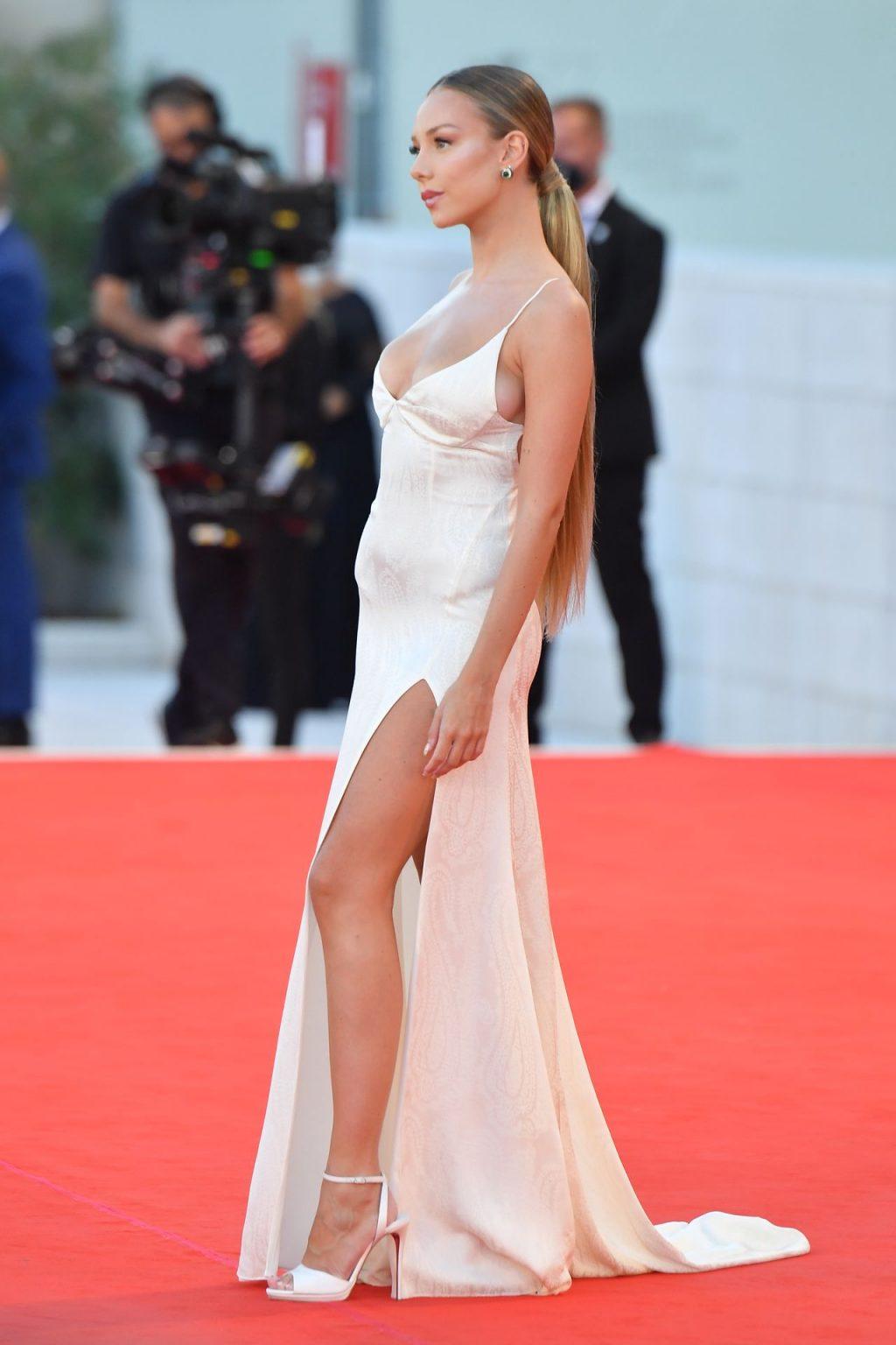 Ester Exposito Stuns in a White Dress at the Venice Film Festival (152 Photos)