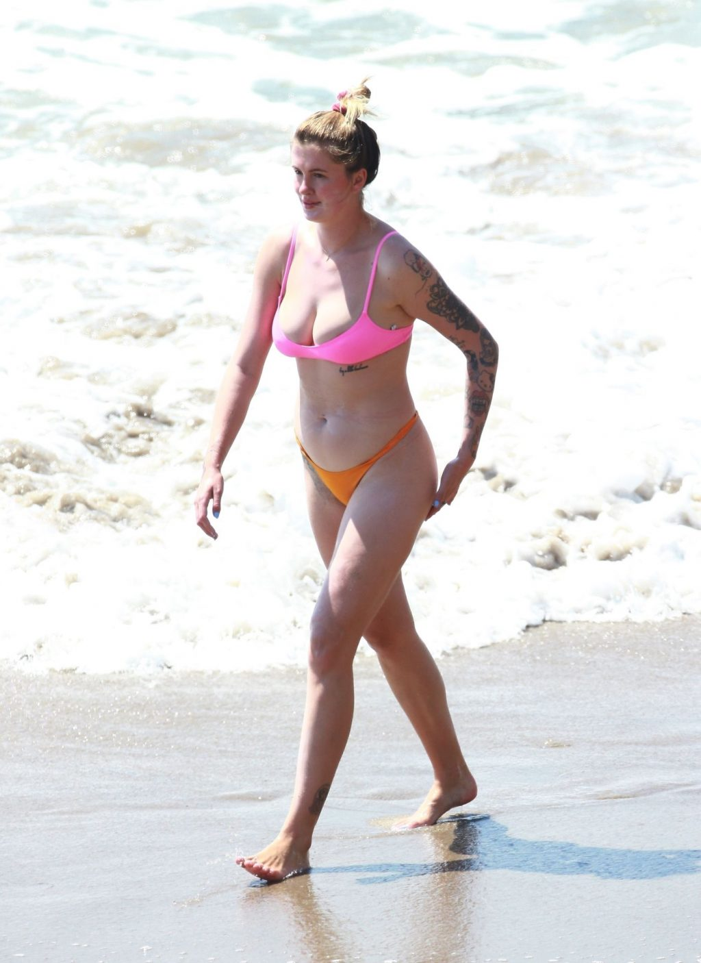 Ireland Baldwin Beats the Heat in Her Bikini at the Beach (34 Photos)