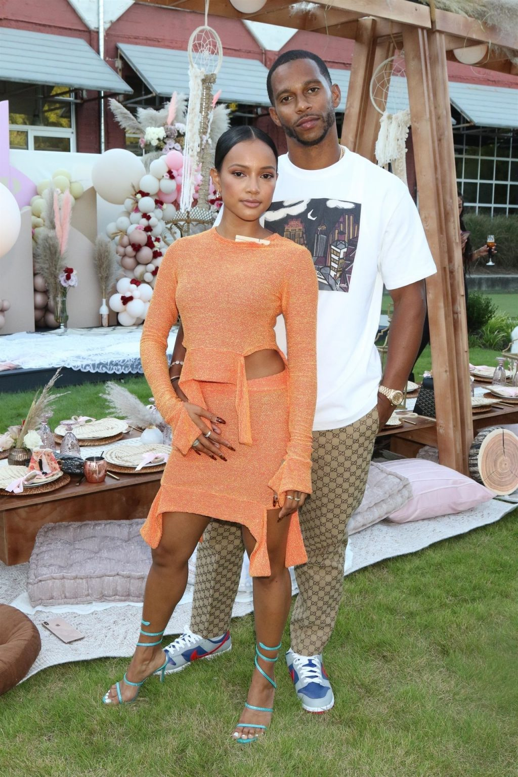 Karrueche Tran Shows Off Her Sexy Legs at the Event in Atlanta (16 Photos)