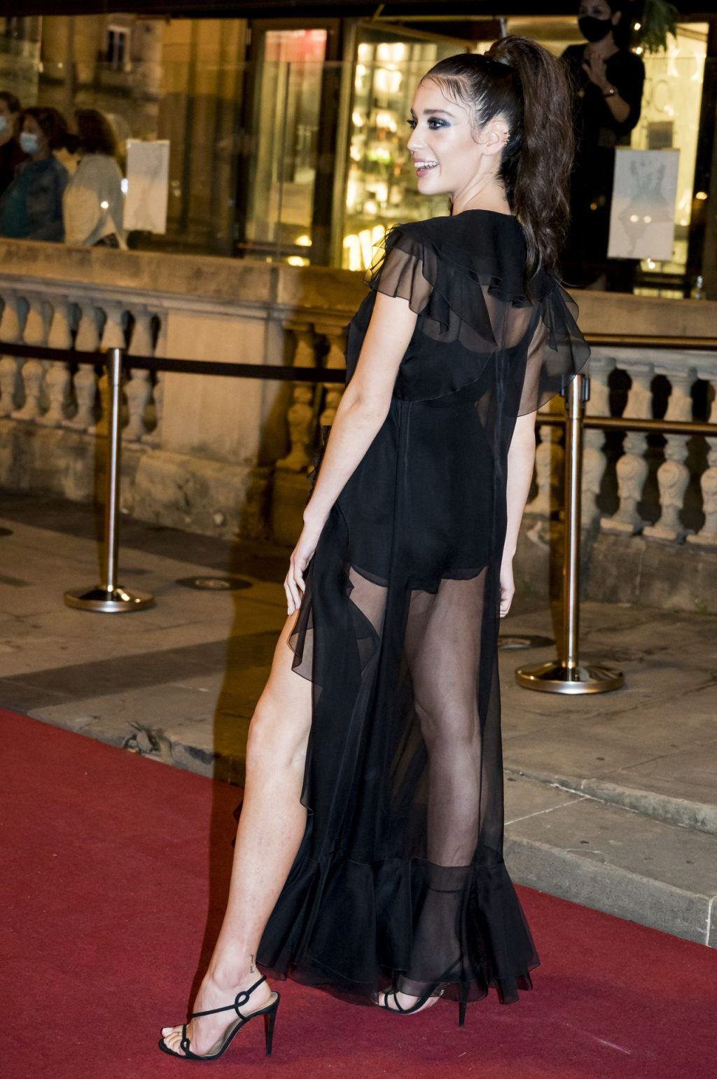 Maria Pedraza Shows Off Her Sexy Legs at the 68th SSIFF (19 Photos)