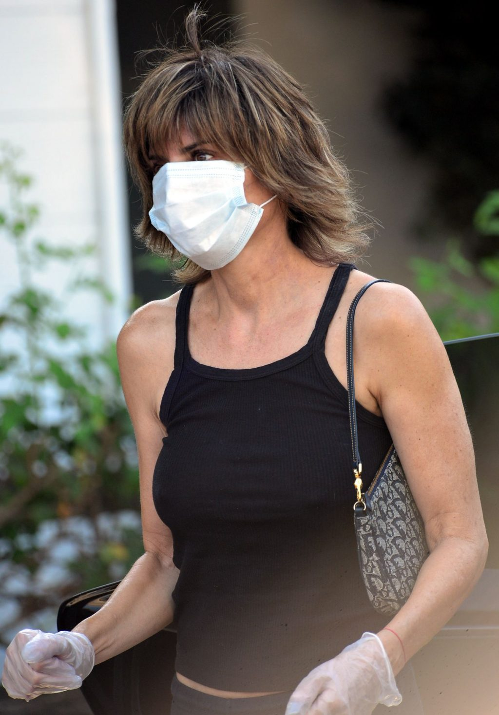 Braless Lisa Rinna Picks Up Her Dry Cleaning in Beverly Hills (19 Photos)