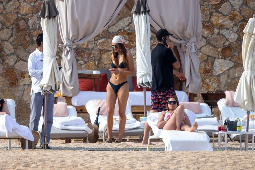 Amelia Gray Hamlin Puts on a Cheeky Display in Black String Bikini in Tulum (48 Photos)